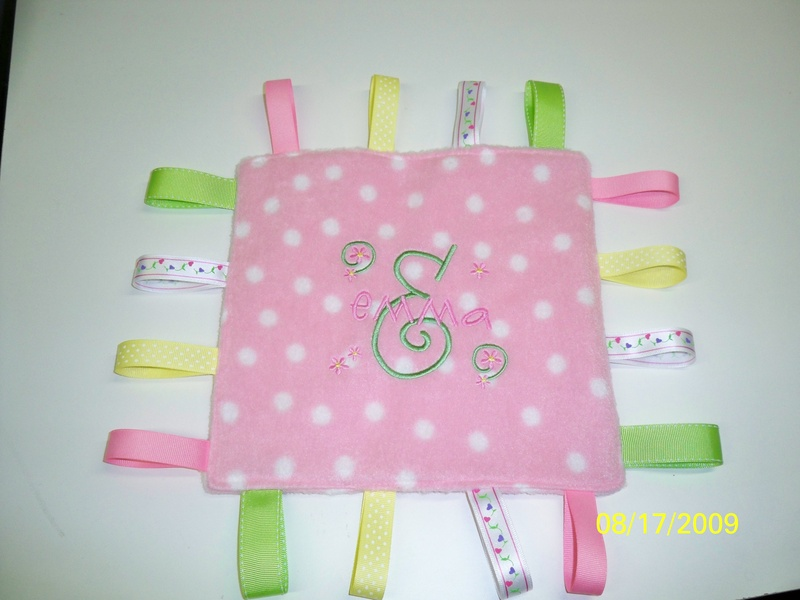 Personalized Ribbon Blanket