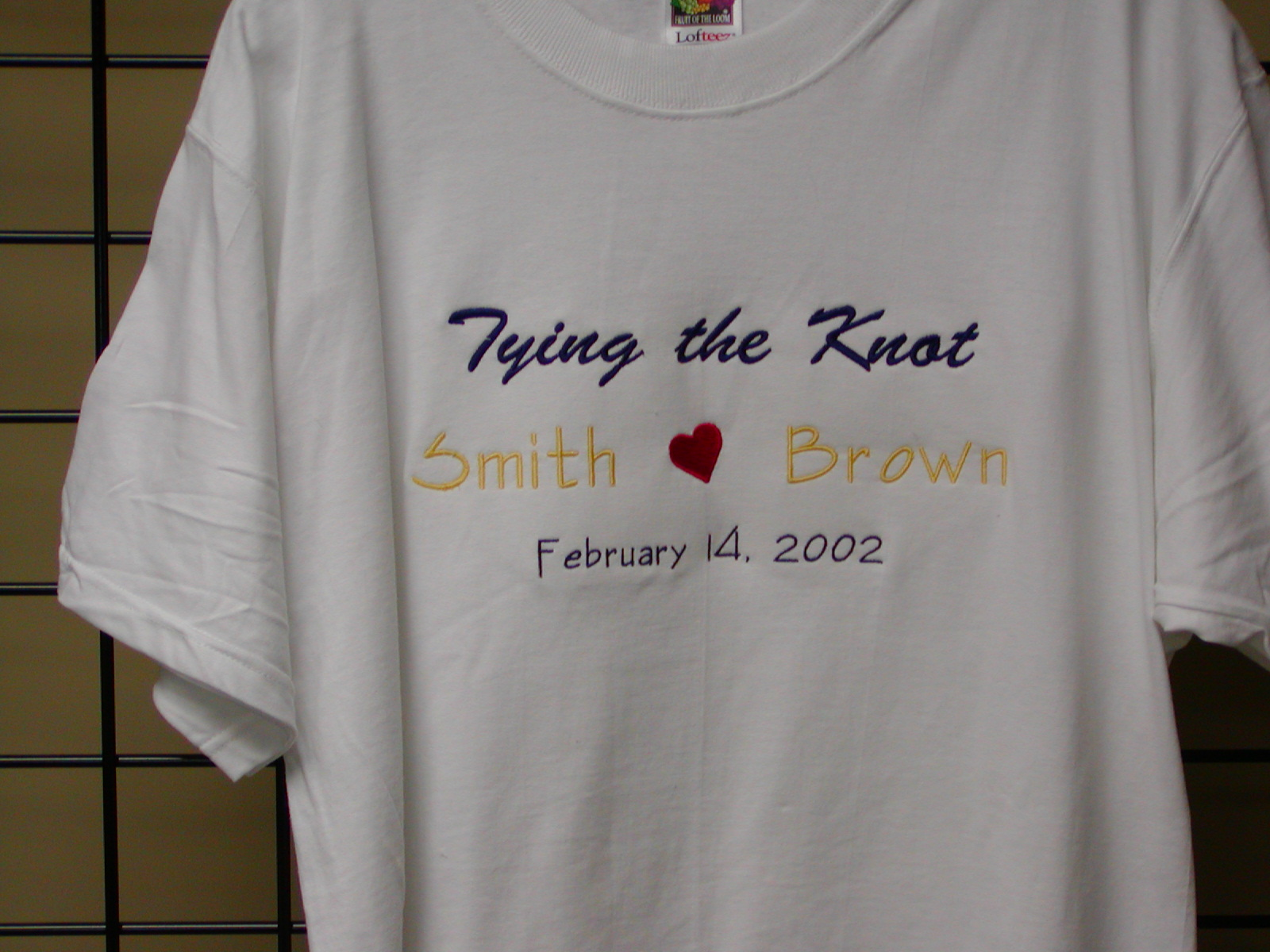 Tying the Knot  T-shirt